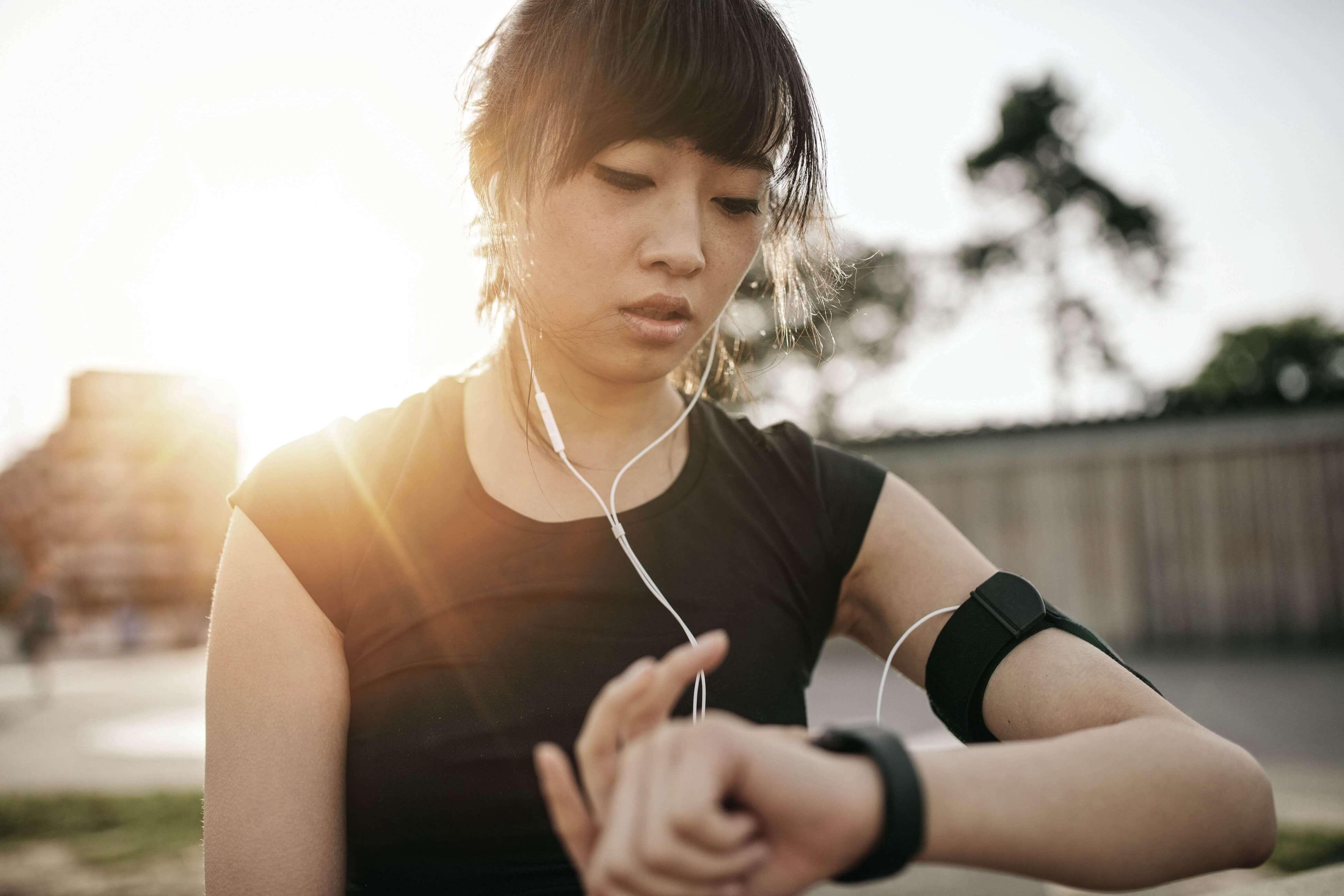 Merilne naprave za tekače