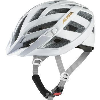 Alpina PANOMA CLASSIC, kolesarska čelada, bela