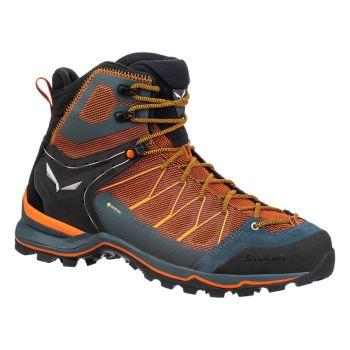 Salewa MTN TRAINER LITE MID GTX, moški pohodni čevlji, oranžna