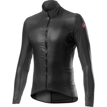 Castelli ARIA SHELL, moška kolesarska jakna, siva