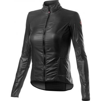Castelli ARIA SHELL W, ženska kolesarska jakna, siva
