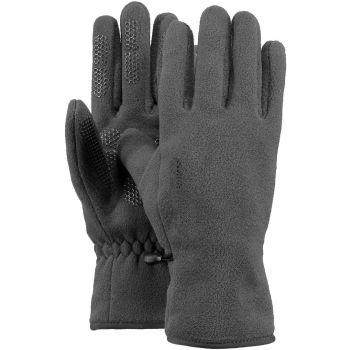 Barts FLEECE GLOVES, rokavice, siva