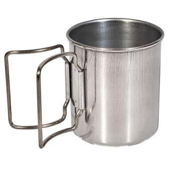 Beaver Brand INOX MUG, skodelica, srebrna