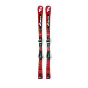 Nordica SPITFIRE CRX FDT+TP2 COMP10FDT, set smuči, rdeča