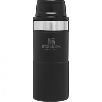 Stanley THE TRIGGER-ACTION, steklenica alu, črna