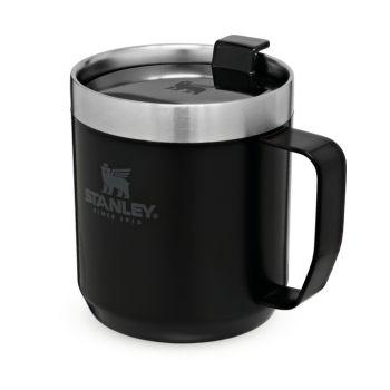 Stanley CLASSIC LEGENDARY CAMP MUG, skodelica, črna
