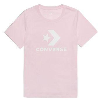 Converse STAR CHEVRON CENTER FRONT TEE, ženska majica, roza