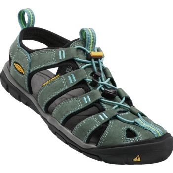 Keen CLEARWATER CNX LEATHER, sandali ž.poh., rumena
