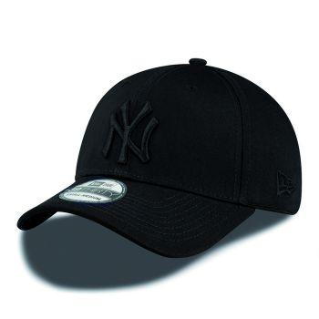 New Era 39THIRTY LEAGUE BASIC NY, kapa, črna