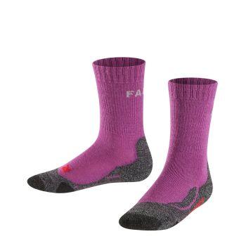 Falke TK2 KIDS, nogavice o.kr poh, vijolična