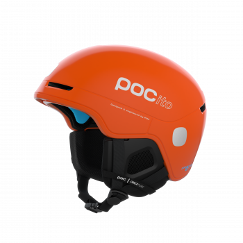 Poc POCITO OBEX SPIN, otroška smučarska čelada, oranžna