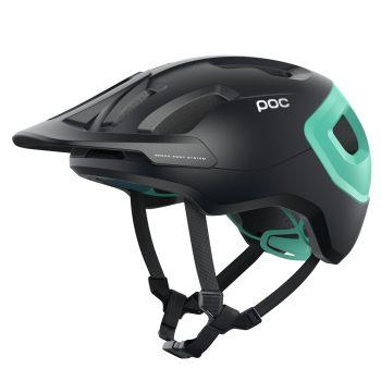 Poc AXION SPIN, kolesarska čelada, črna