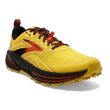 Brooks CASCADIA 16, moški tekaški copati, rumena