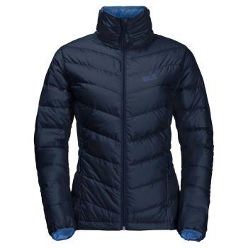 Jack Wolfskin HELIUM HIGH W, ženska pohodna jakna, modra