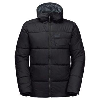 Jack Wolfskin KYOTO JACKET, moška pohodna jakna, črna