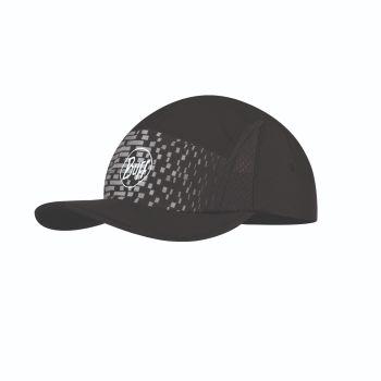 Buff CAP R-NATRON, kapa m.ščit, siva