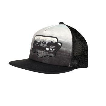 Buff TRUCKER CAP SENDEL, kapa m.ščit, črna