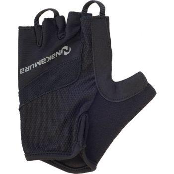 Nakamura GUANTO GLOVES, moške kolesarske rokavice, črna