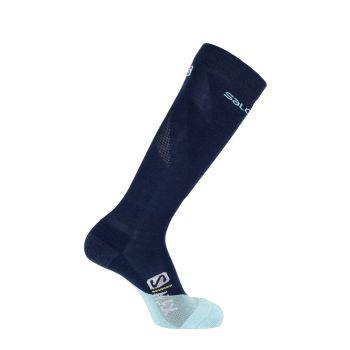 Salomon S/MAX 1/1, moške smučarske nogavice, modra