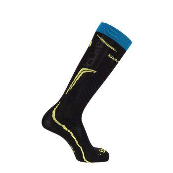 Salomon NEW X-PRO DX+SX 1/1, moške smučarske nogavice, črna
