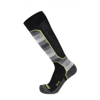 Eisbar TECH LIGHT 1/1, moške smučarske nogavice, črna