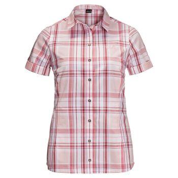 Jack Wolfskin MARONI RIVER SHIRT W, ženska bluza, roza