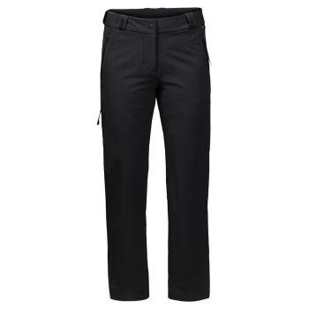Jack Wolfskin ACTIVATE THERMIC PANTS W, ženske pohodne hlače, črna