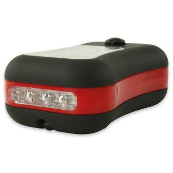 Hycell WORKING LIGHT 24+4 LED, svetilka, črna