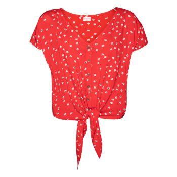 Protest COTTON, ženska bluza, rdeča