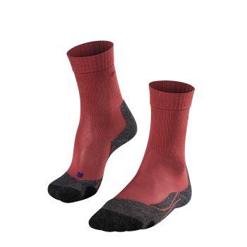 Falke TK2 COOL, nogavice ž.poh, rdeča