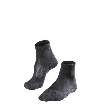 Falke TK2 SHORT COOL W, nogavice ž.kr poh, črna