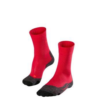 Falke TK2, nogavice ž.poh, rdeča
