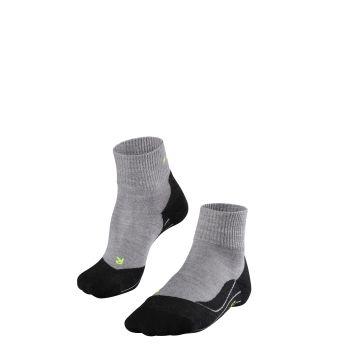 Falke FALKE TK5 SHORT, moške pohodne nogavice, siva