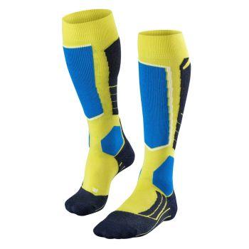 Falke SK2, moške smučarske nogavice, rumena