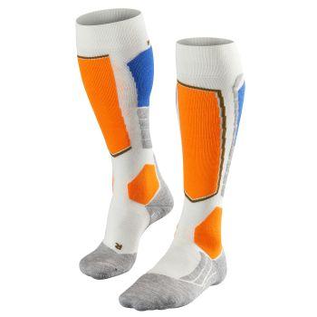 Falke SK2, moške smučarske nogavice, bela
