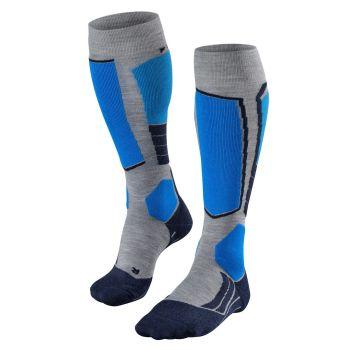 Falke SK2, moške smučarske nogavice, siva