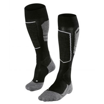 Falke SK4, moške smučarske nogavice, črna