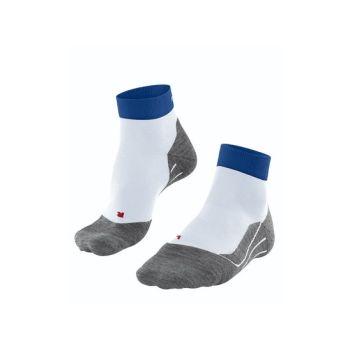 Falke RU4 SHORT, moške tekaške nogavice, bela