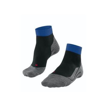 Falke RU4 SHORT, moške tekaške nogavice, črna
