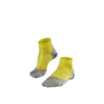 Falke RU5 LIGHTWEIGHT SHORT, moške tekaške nogavice, rumena