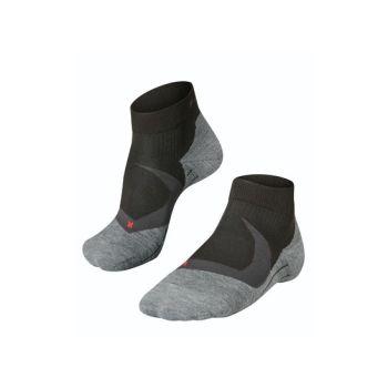 Falke RU4 COOL SHORT, moške tekaške nogavice, črna
