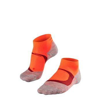 Falke RU4 COOL SHORT, nogavice ž.kr tek, rdeča