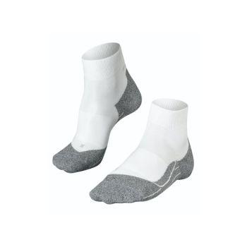 Falke RU4 LIGHT, moške tekaške nogavice, bela