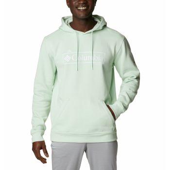 Columbia CSC BASIC LOGO HOODIE, moški pulover, modra