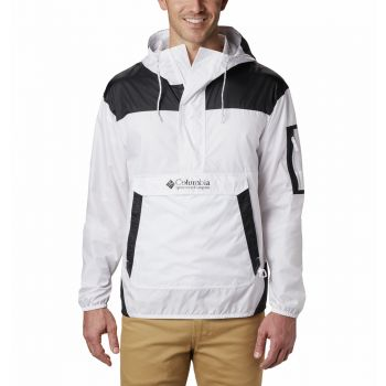Columbia CHALLENGER WINDBREAKER, moška pohodna jakna, bela