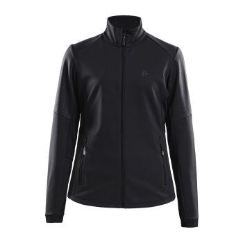 Craft WARM TRAIN JACKET W, ženska jakna, črna