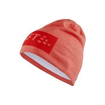 Craft CORE SQUARE LOGO KNIT HAT, moška kapa, rdeča