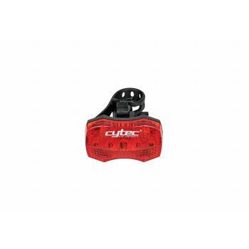 Cytec LED REAR 5 LED + REFLECTOR, kolesarska svetilka, rdeča