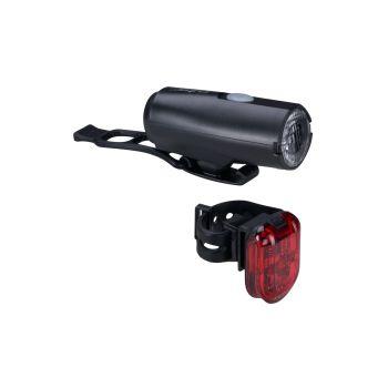 Cytec 25 LUX USB, set kolesarskih svetil, črna