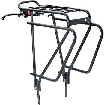 Cytec CARRY MORE 24-29, kolesarski nosilec, črna
